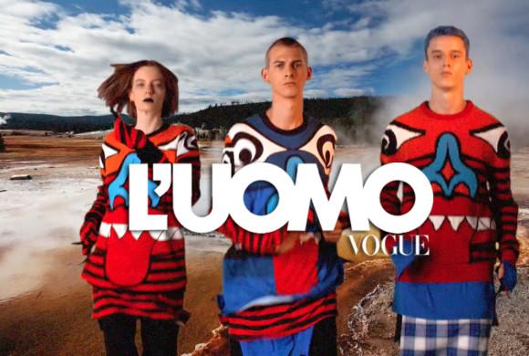 L'UOMO VOGUE – The Squad